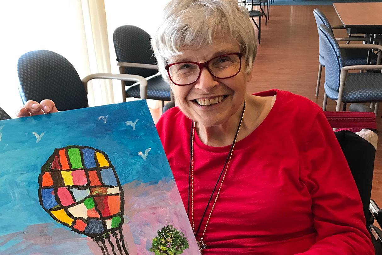 Painting Classes for the Elderly