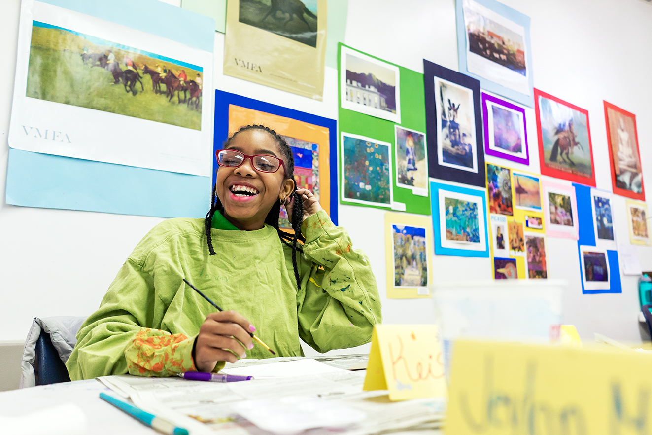 Art Classes for Underserved Youth