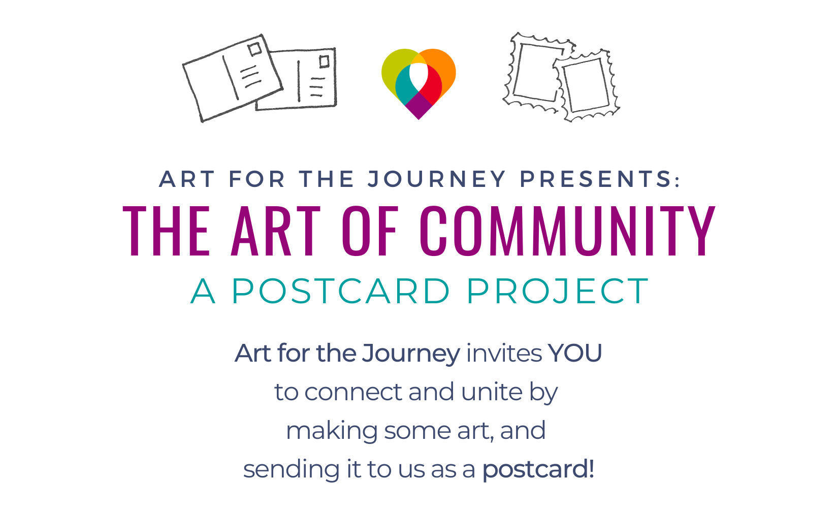 The Art of Community: A Postcard Project